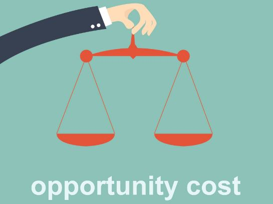 What is an opportunity cost?