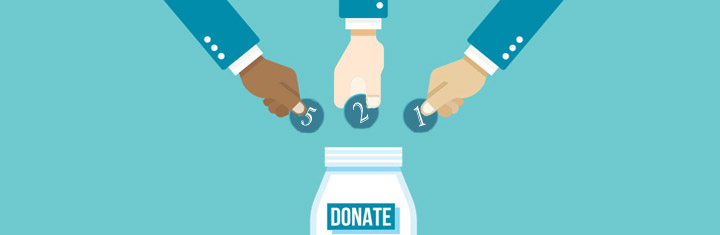 Donating assets to a trust