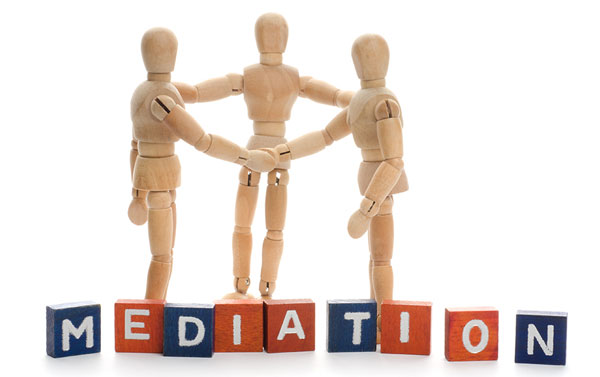 Mediation as a means of settling disputes