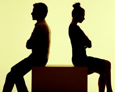 What happens when married trustees get divorced?